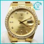 ロレックスの時計デイデイト18048買取価格