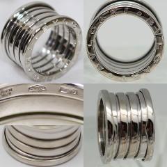 ブルガリのリング金の純度