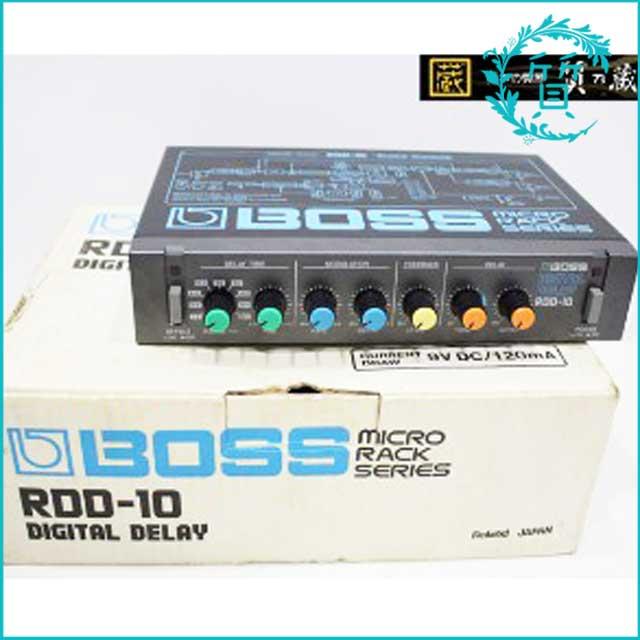 BOSSボスのデジタルディレイエフェクターRDD-10!買取価格