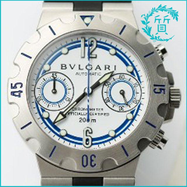 ブルガリの時計スクーバ・クラブスワンSC38NSW買取価格