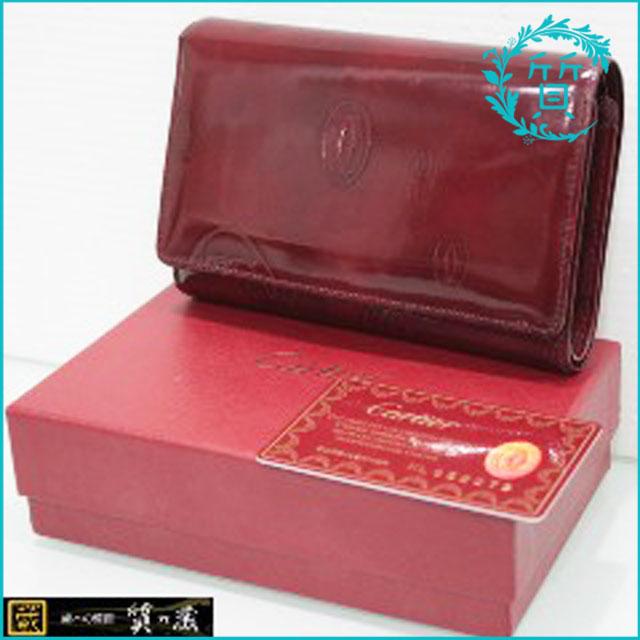 カルティエCartierのハッピーバースデー財布買取