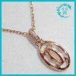 カルティエのネックレス ロゴ ドゥーブルC!B7219200買取価格