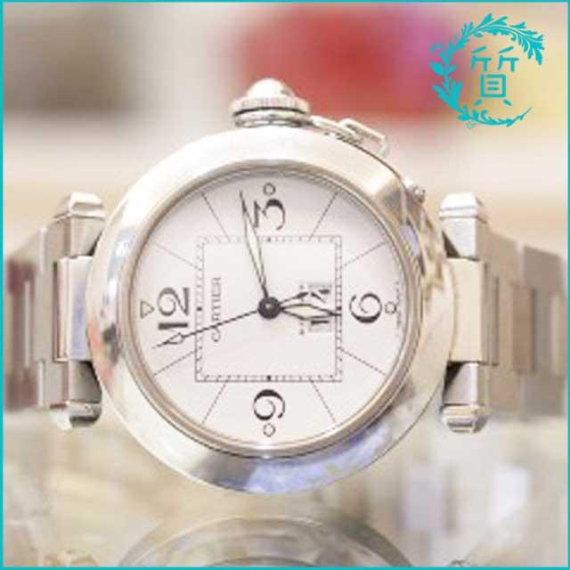 カルティエの時計パシャC W31055M7買取価格