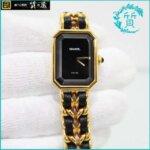 シャネルCHANELの腕時計プルミエール(M)クオーツ買取価格