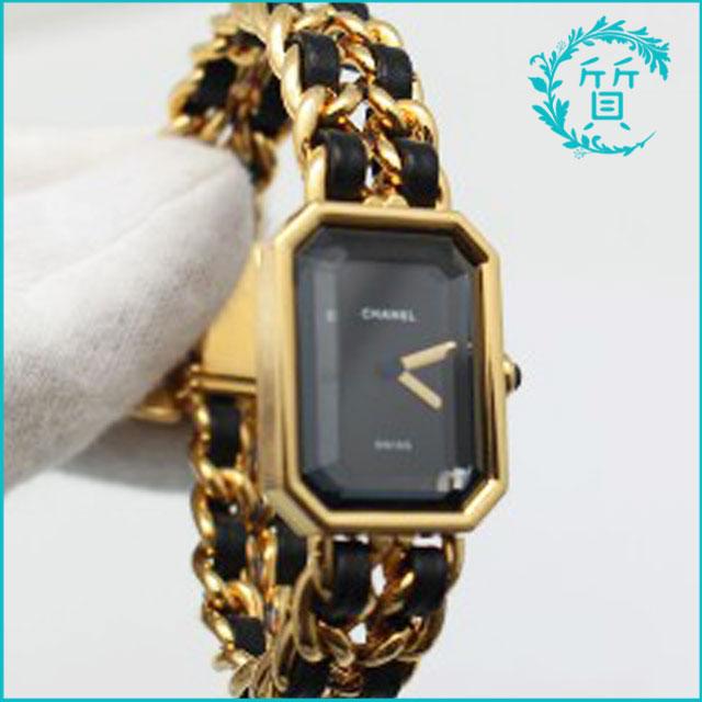 シャネルの時計プルミエール!ゴールド買取価格