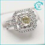 ダイヤモンドプラチナ指輪!D1.014買取価格