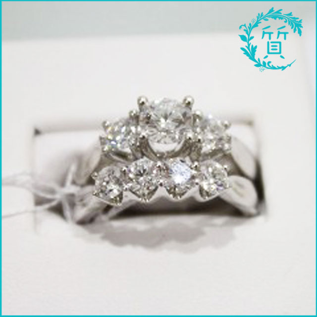 K14金の指輪!ダイヤモンド入り!買取価格