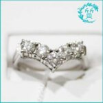 ダイヤモンドリング!PT850プラチナの指輪!買取価格