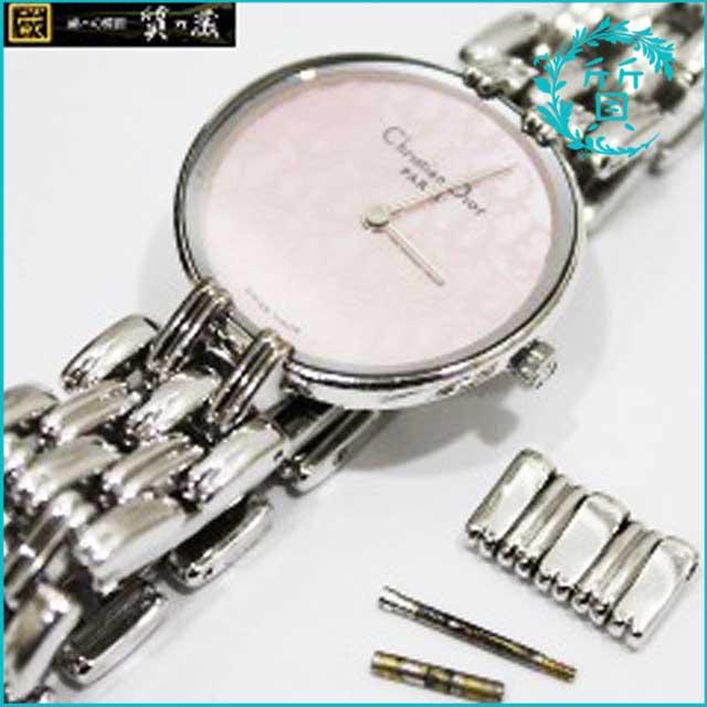 ディオールDiorのクオーツ腕時計D44-120買取価格