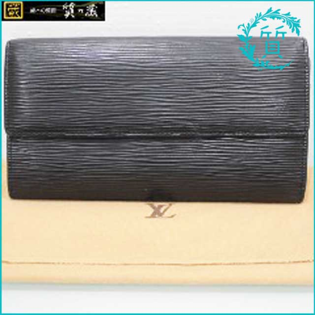 ルイヴィトンのの黒エピ・ファスナー長財布M63572買取価格