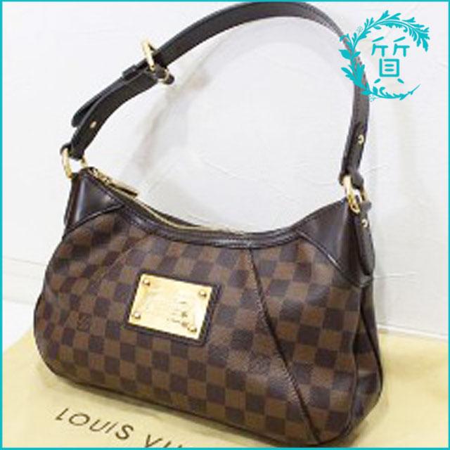 ルイヴィトンのバッグ ダミエ テムズPM N48180買取価格