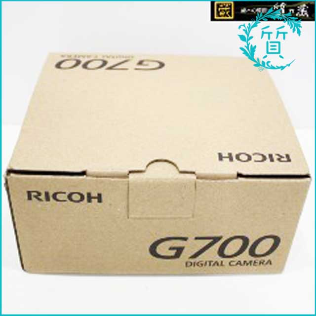 RICOHリコーのデジタルカメラG700!買取価格