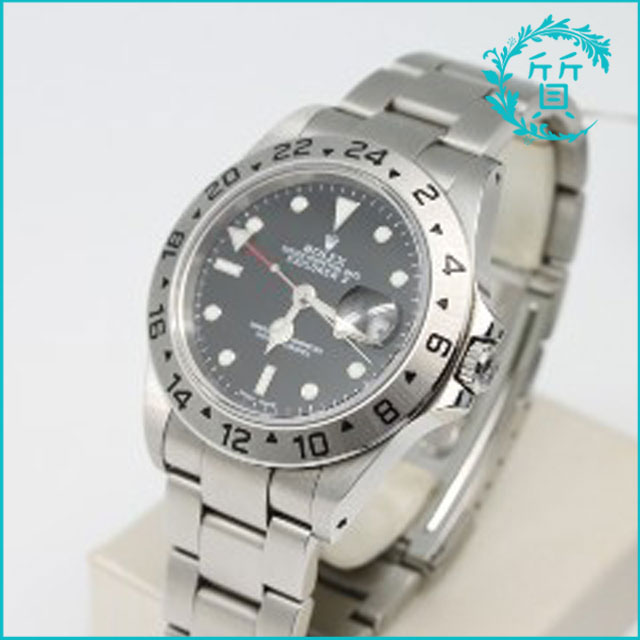 ロレックスの時計エクスプローラーⅡ 16570 Y番!買取価格