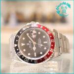 ロレックスの時計 GMTマスターⅡ 16710 A番 黒赤モデル買取価格
