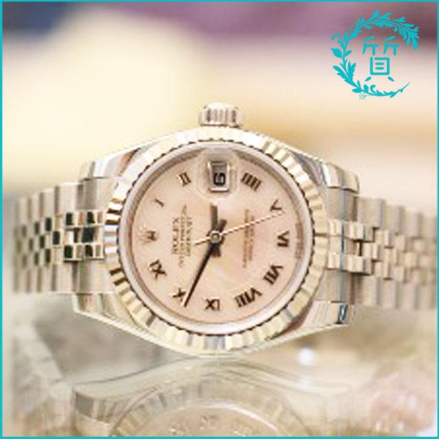 ロレックスの時計デイトジャスト179174 買取価格
