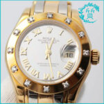 ロレックスの時計 パールマスター69318買取価格