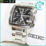 セイコーSEIKOの時計7T62-0HY0クロノグラフ買取価格