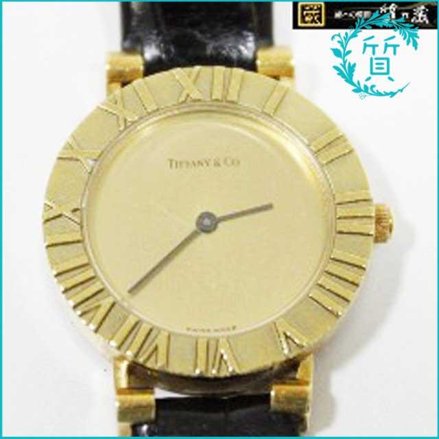 ティファニーTIFFANY & Coのアトラス時計!18Kレディース買取価格