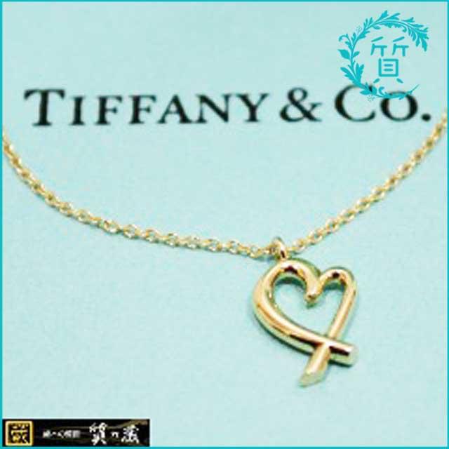 ティファニーのオープンハートネックレス!750(K18)買取価格
