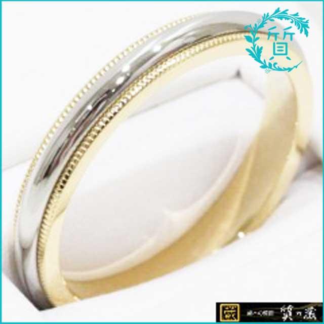 ティファニーの指輪!K18・Pt950リング買取価格