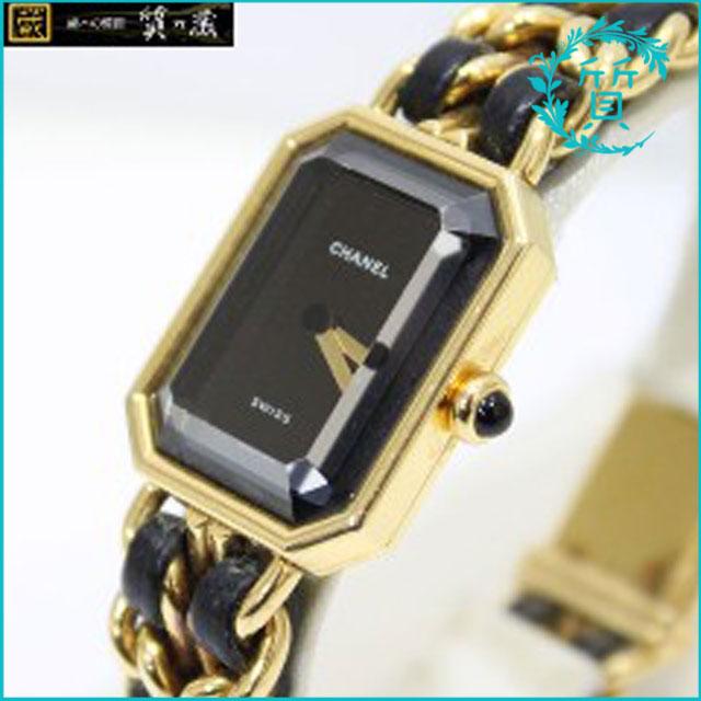 シャネルCHANELのクオーツ腕時計プルミエール買取価格