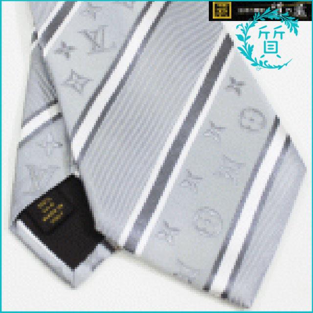 ルイヴィトンのネクタイ!シルク100%メタリック系!買取価格