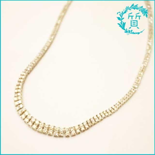 メレダイヤモンド!D10ctプラチナのネックレス買取価格