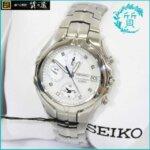 セイコーSEIKOの7T92-OKNOクロノグラフ買取価格