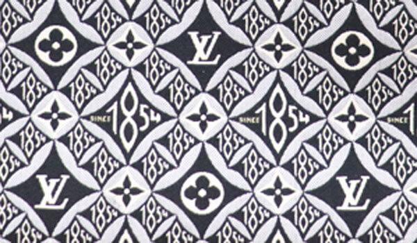 ジャカード織のテキスタイル柄