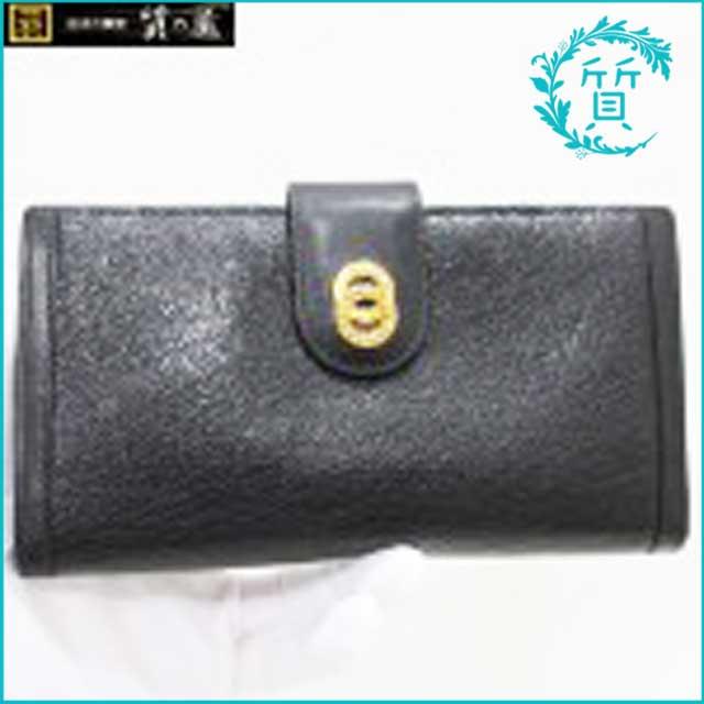 ブルガリのドッピオトンド長財布!ブラック買取価格