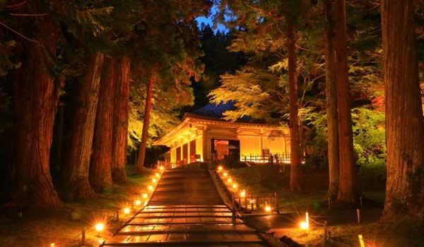 岩手県の中尊寺金色堂