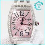 フランクミュラーの時計1752QZDトノーカーベックス ダイヤ入り買取価格