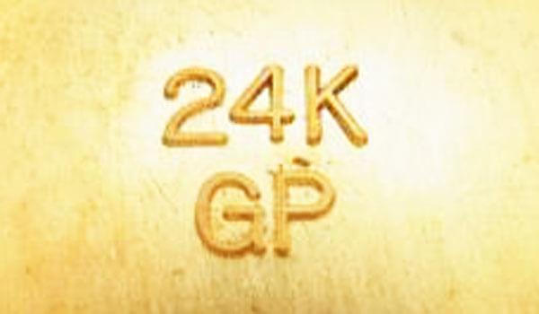 24KGPの金メッキ