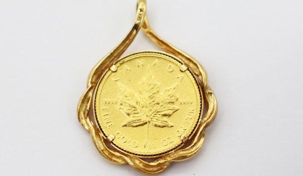 K24金のエリザベスコイン