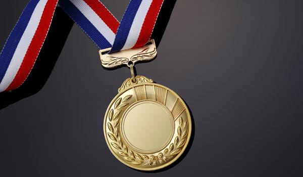 オリンピックの金メダル素材